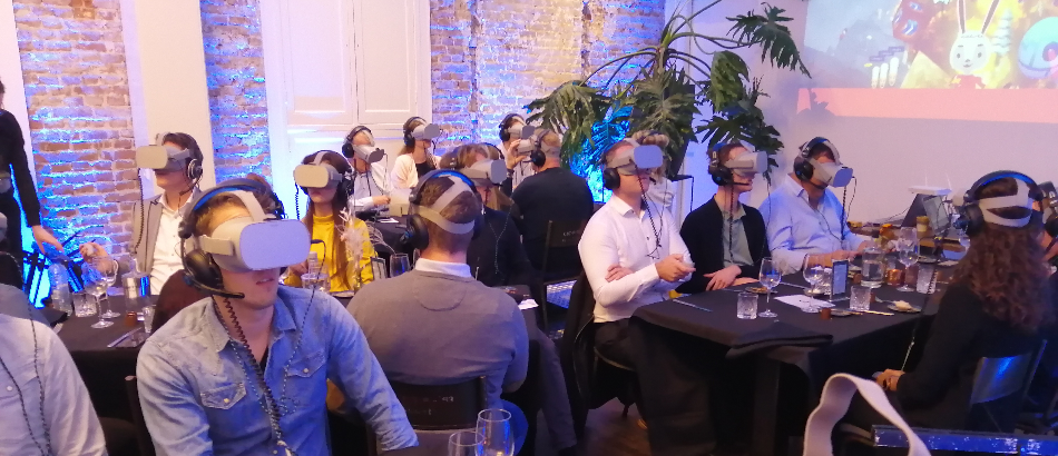 VR Dinerspel