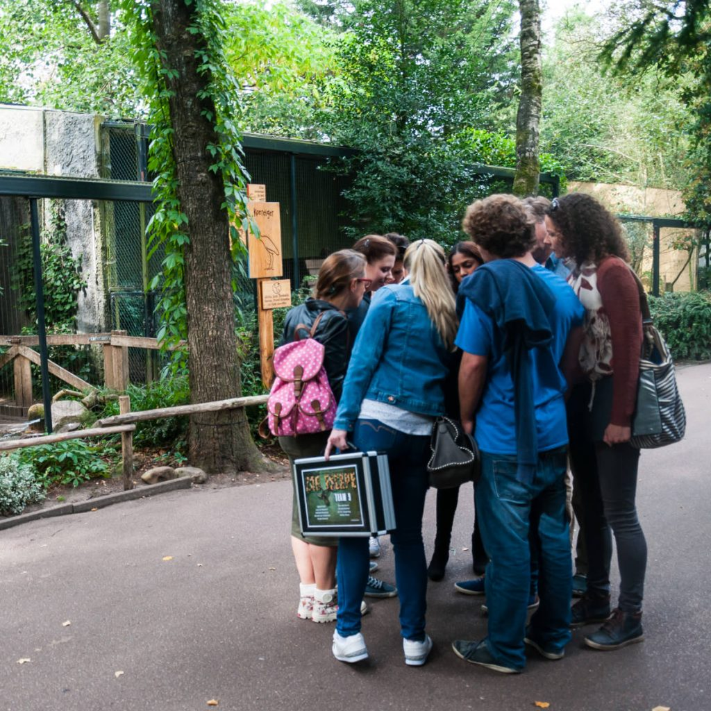 Zoo escape teamuitje
